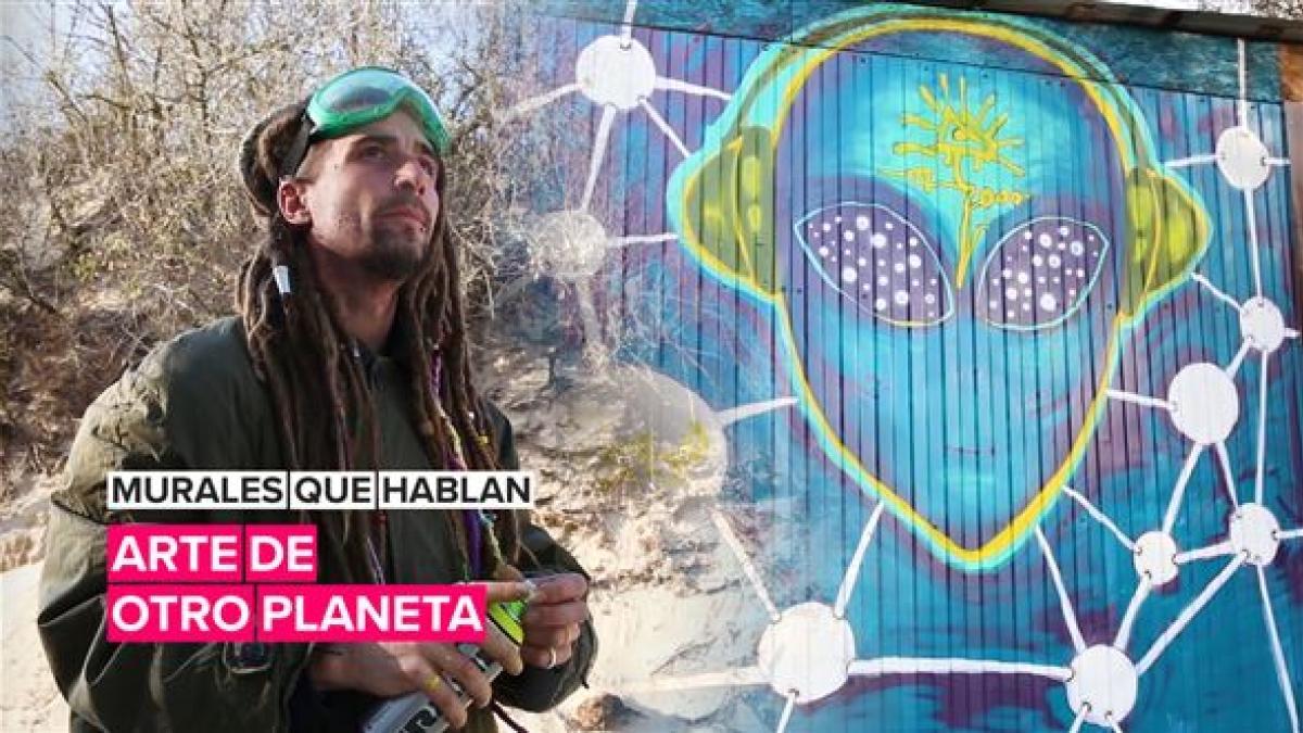 Murales que hablan: arte de otro planeta
