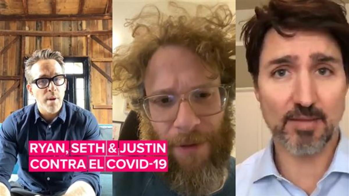 Justin Trudeau pide a famosos que difundan el mensaje #QuédateEnCasa