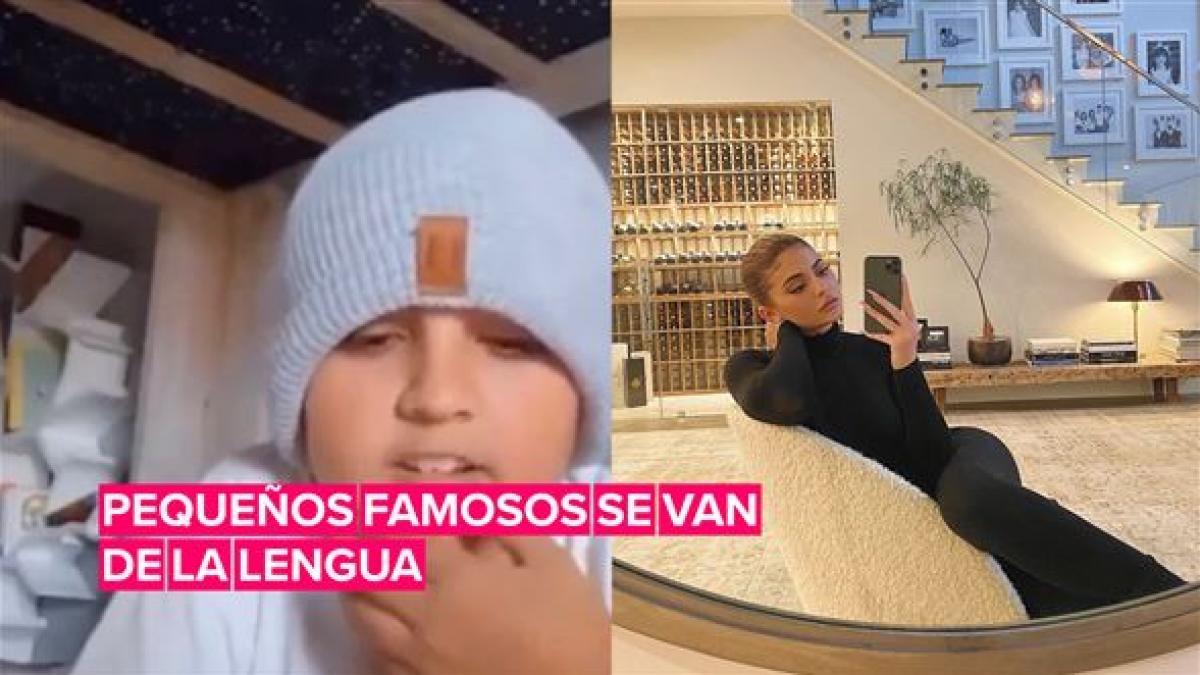 Estos hijos de famosos se fueron de la lengua en Instagram Live