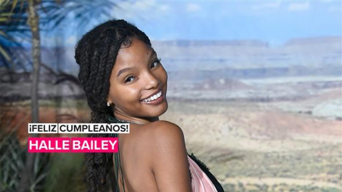 Halle Bailey estaría celebrando su cumpleaños durante el rodaje de 'La Sirenita'