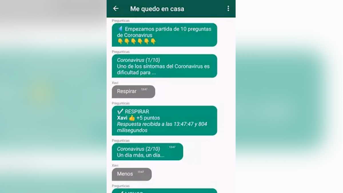 Lanzan El Trivial Sobre El Coronavirus Un Concurso De Preguntas En Whatsapp Que Divierte A La Vez Que Informa