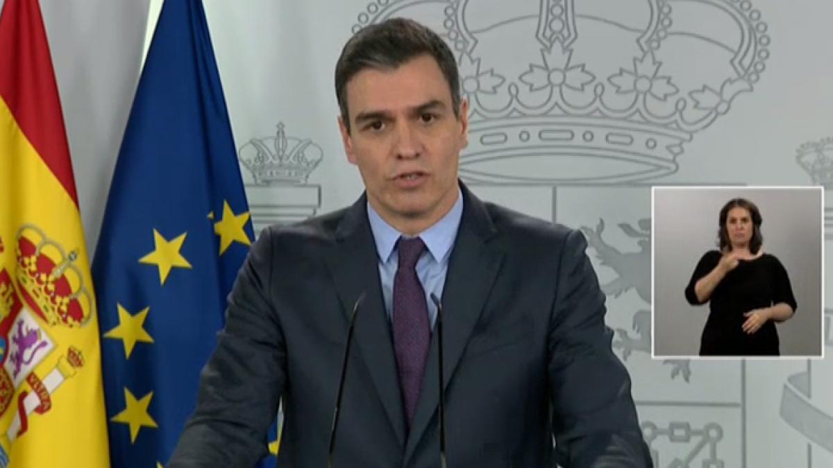 """Sánchez anuncia un plan para la vuelta tras el confinamiento: """"La normalidad no llegará hasta la vacuna"""""""