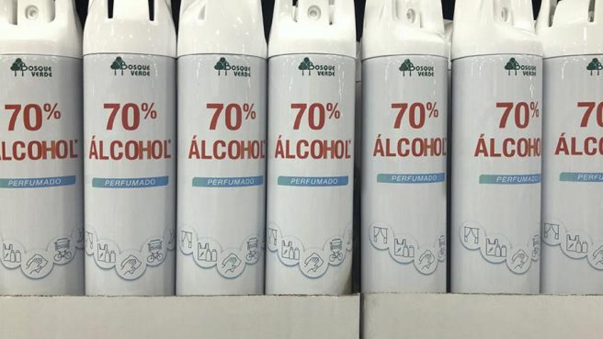 El desinfectante en spray que arrasa en Mercadona: se venden 50.000 al día