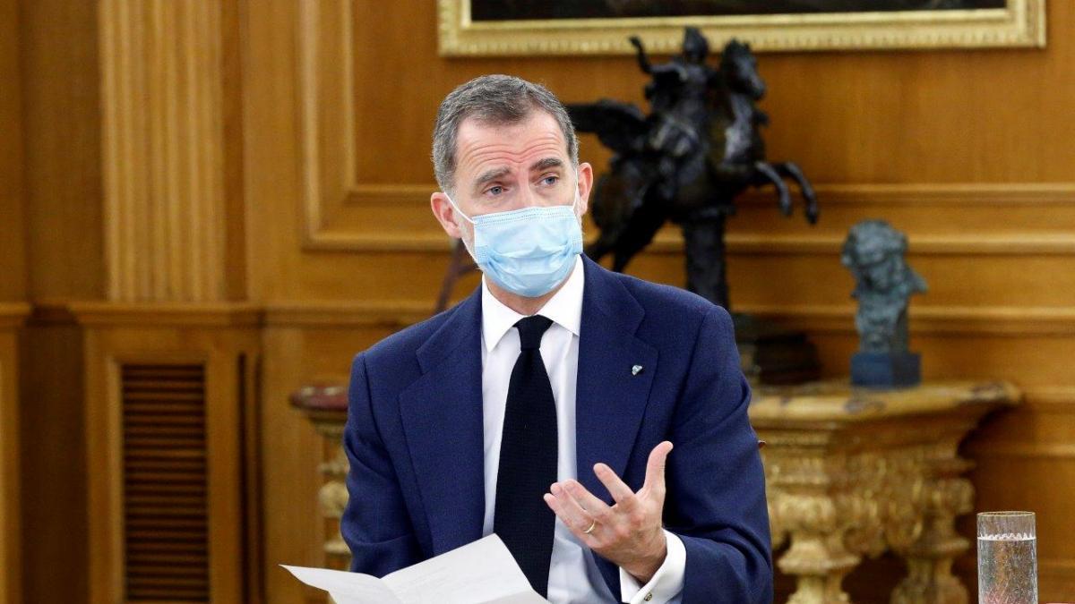 """El rey apela a la unidad y responsabilidad para la recuperación de España: """"De esta crisis debemos extraer enseñanzas"""""""