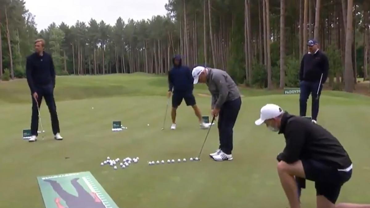El golfista Paul McGinley entra en el libro Guinness de los récords al embocar veinte 'putts' en un minuto