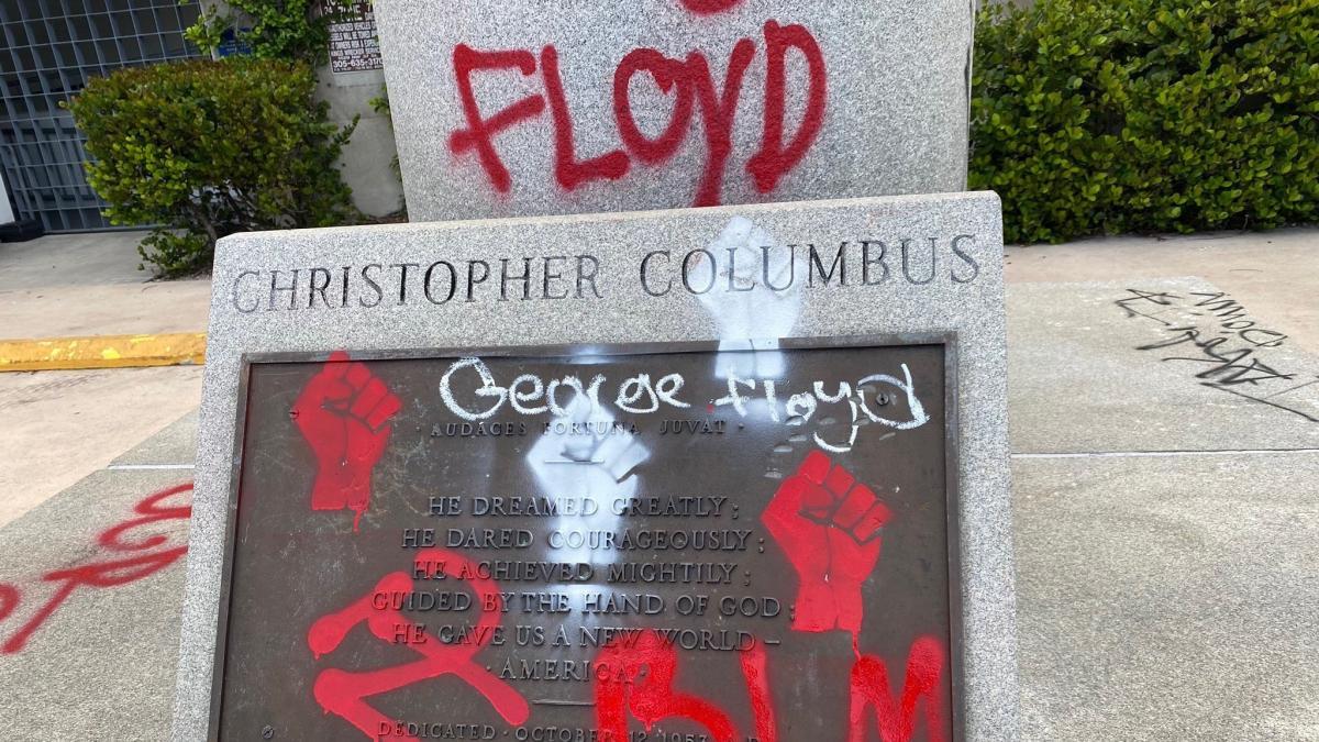 Colón y los conquistadores españoles, objetivos de las protestas ...