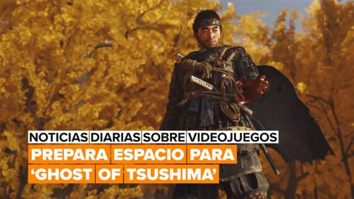 ¡Prepara espacio en el disco para jugar a 'Ghost of Tsushima'!