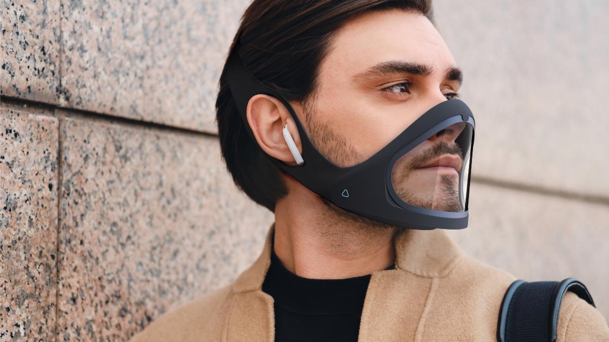 La mascarilla definitiva: inclusiva, mide calidad del aire y constantes vitales, se autodesinfecta y lleva Marca España