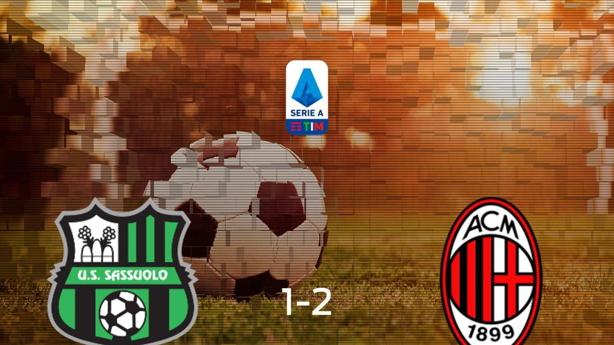 Sassuolo AC Milan Resultado Resumen Y Goles En Directo