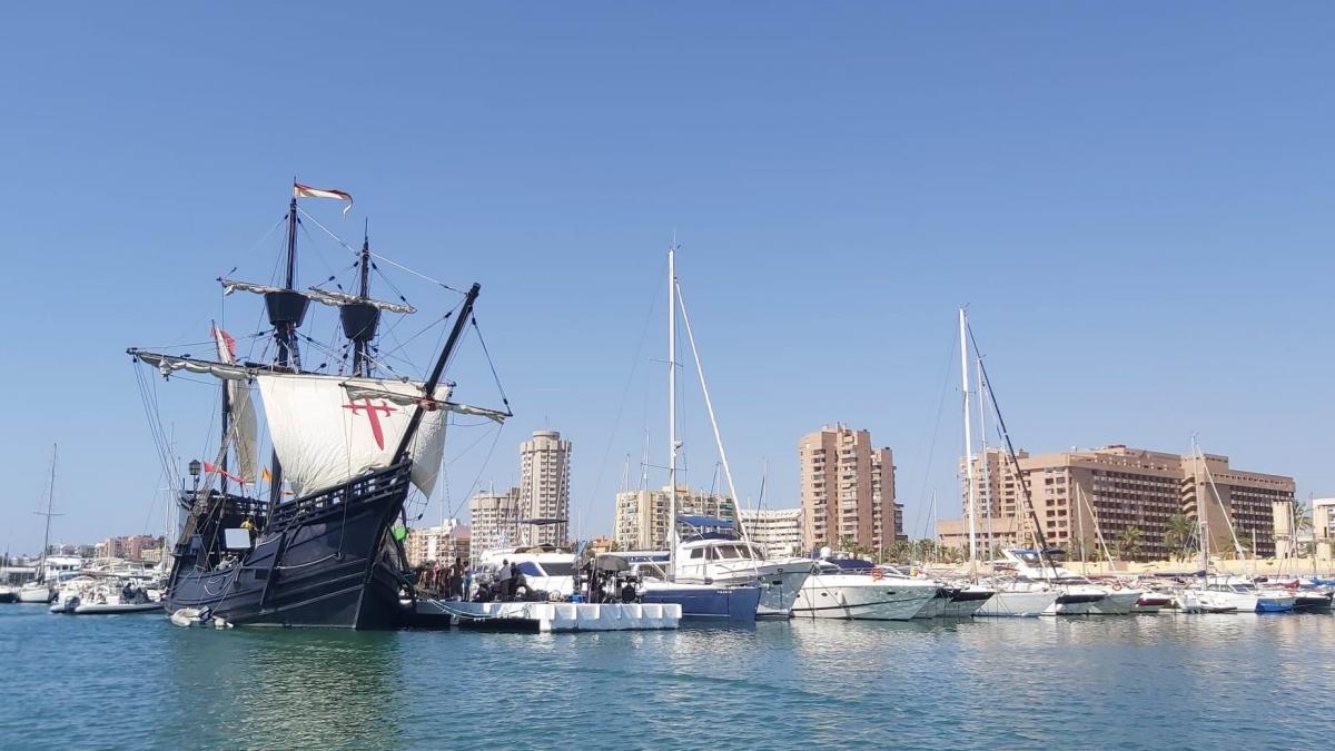 La Nao Victoria hace escala en Fuengirola con motivo del quinto centenario de la vuelta al mundo en barco 2
