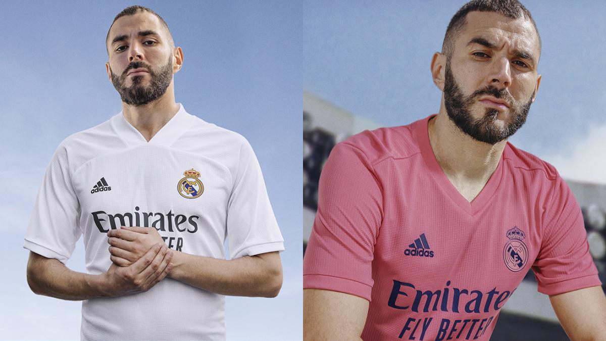 El Real Madrid Presenta Sus Nuevas Camisetas Para La Temporada 2020 21 Con Protagonismo Del Color Rosa