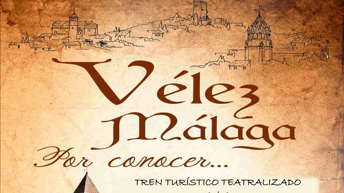 Vélez-Málaga revive su historia en un nuevo tren teatralizado 1