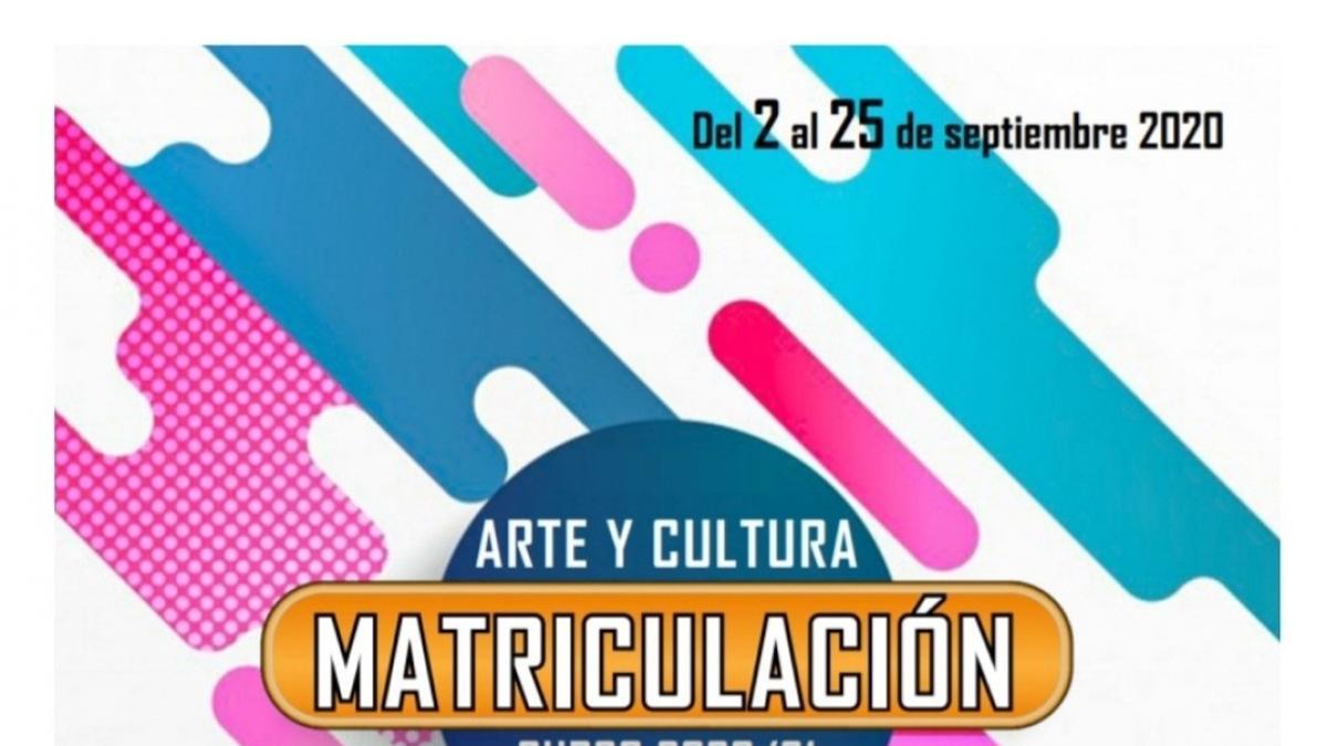 Marbella abre este miércoles el plazo de inscripción para el programa formativo de Arte y Cultura 2