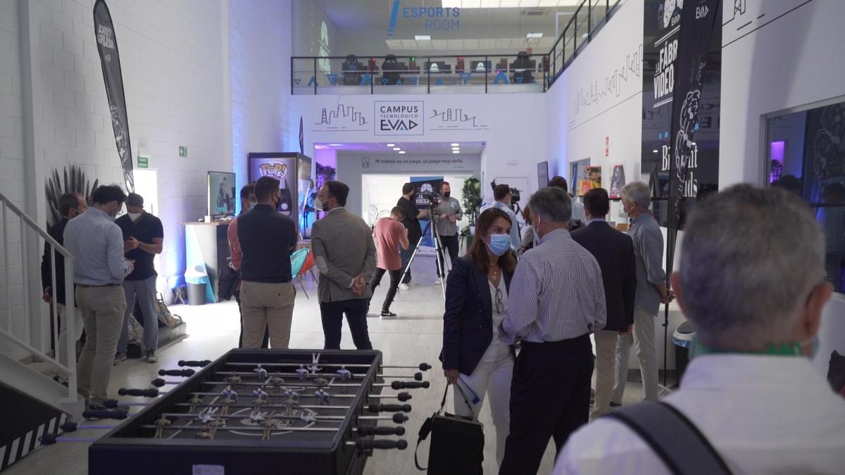 EVAD inaugura el Campus Tecnológico dedicado a la formación e impulso del tejido industrial 2