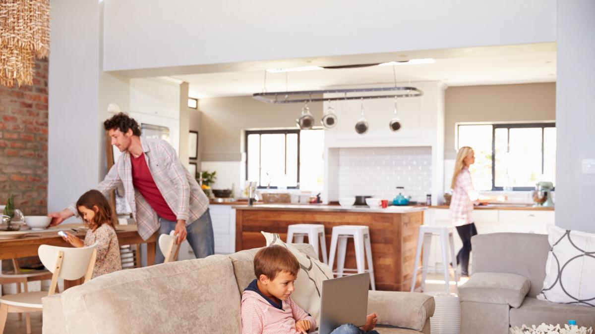 Como mejorar la decoracion de una casa para favorecer la limpieza y desinfeccion