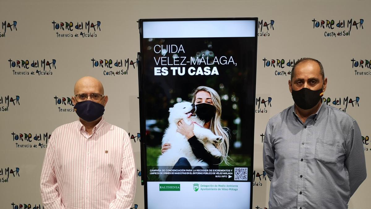 Vélez-Málaga presenta una nueva campaña de concienciación para las personas que tienen mascotas 2