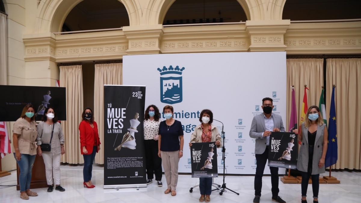 Ayuntamiento de Málaga lanza por quinto año consecutivo una campaña de sensibilización contra la trata 2