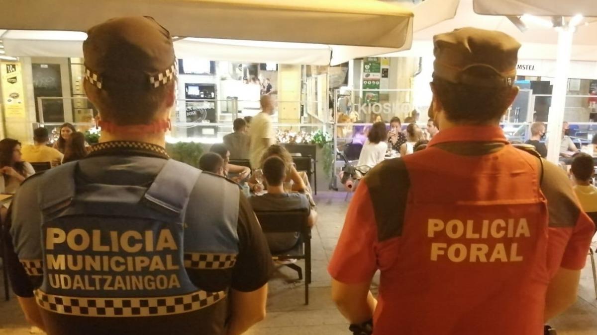 Operativo policial especial desde este jueves en Pamplona coincidiendo con las no fiestas de San Fermín Txikito