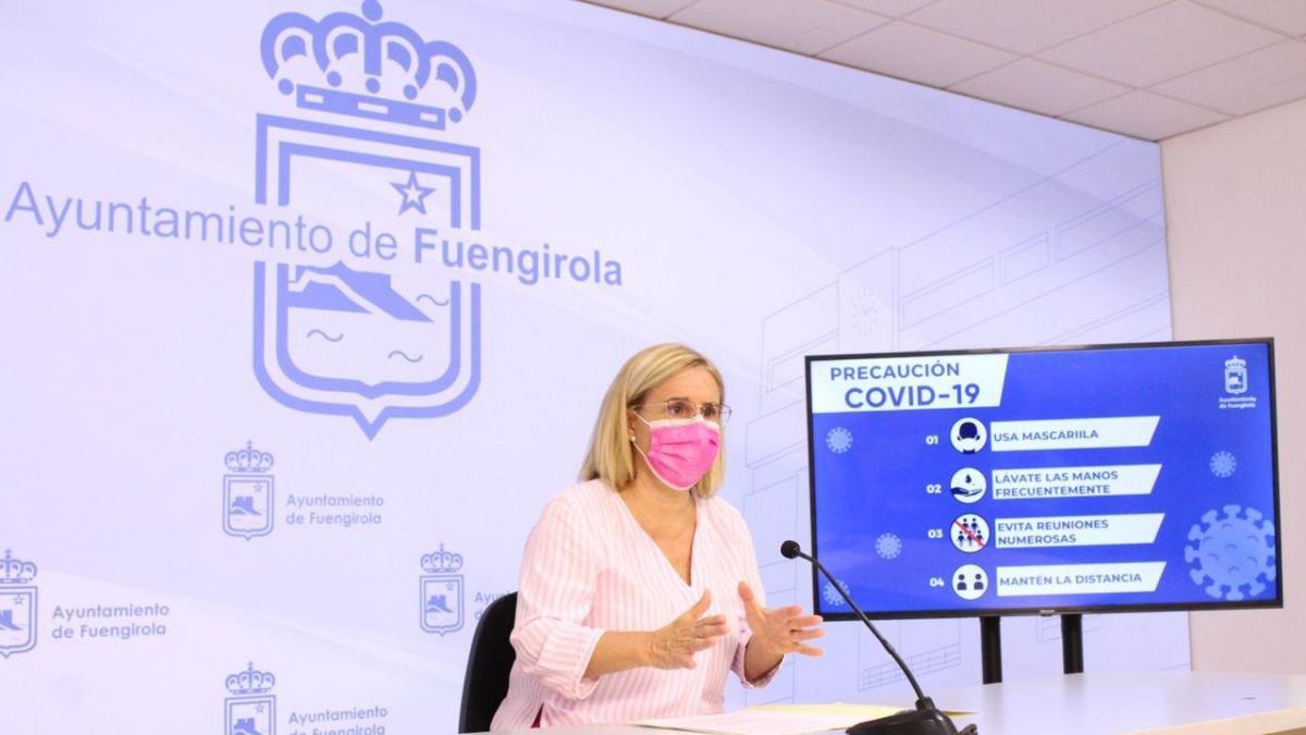 Cvirus.- La alcaldesa de Fuengirola insta a los ciudadanos a redoblar esfuerzos en cumplimiento de medidas 2