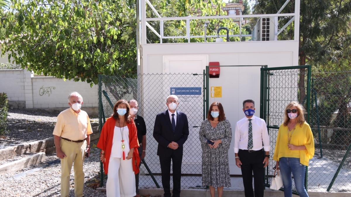 La Estación Municipal de la Calidad del Aire de Málaga Este cuenta con analizadores de última tecnología 1