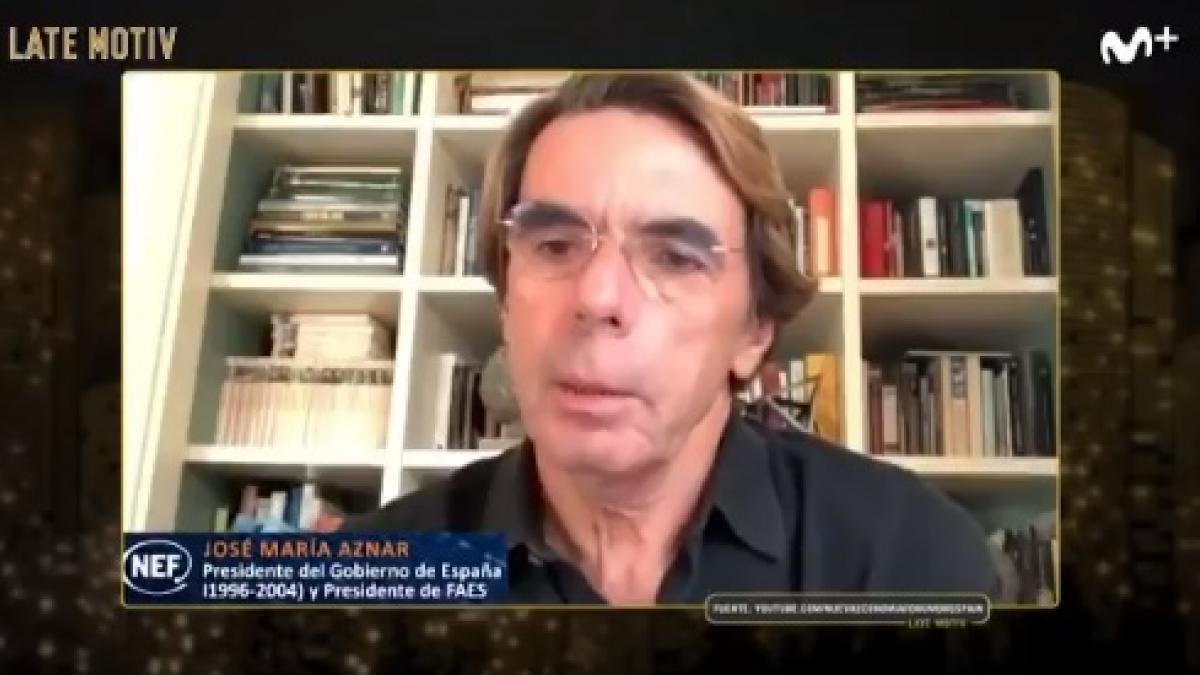 """Buenafuente llama a Aznar """"Casi Rubius"""" y Wyoming cree que """"ha confundido el champú con gel hidroalcohólico"""""""