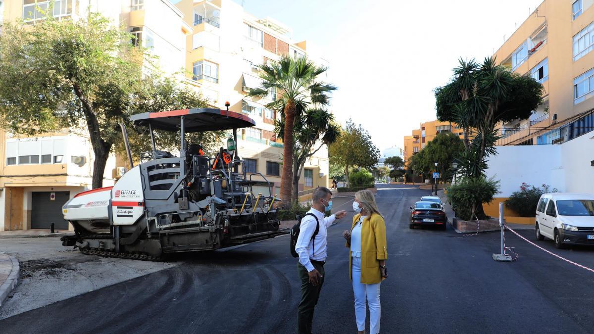 Marbella renueva el asfalto de más de 128.000 metros cuadrados de 70 viales del término municipal 1
