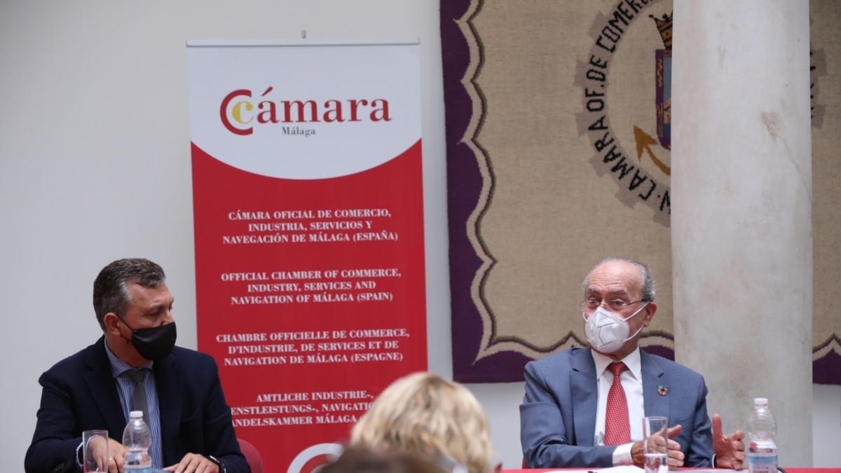 De la Torre expone a Comité Ejecutivo de Cámara de Comercio el proyecto de Málaga para acoger expo internacional 2