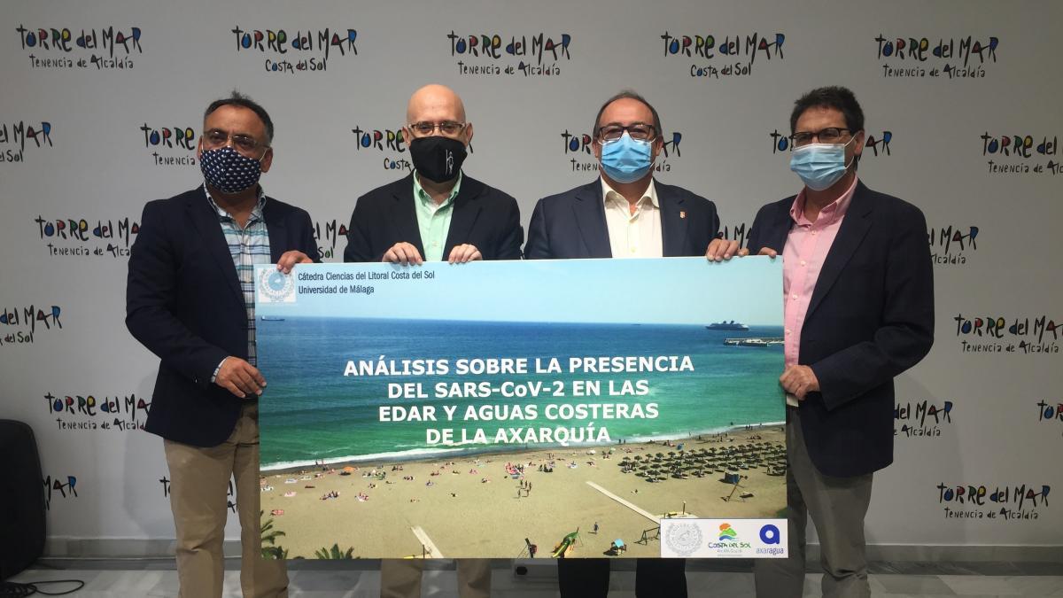 Cvirus.- Un estudio de la UMA descarta la presencia de COVID en las aguas de cinco municipios de la Axarquía 2
