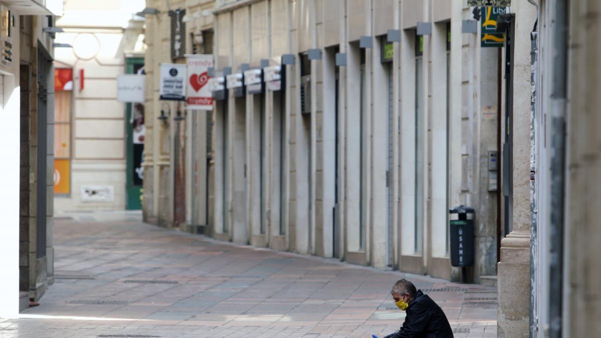 Más de 175 personas estaban en situación de calle en Málaga en mayo y el 28% llevaba más de tres años 2