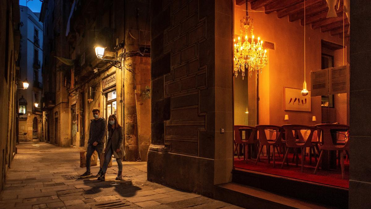 Horario del toque de queda en Cataluña durante el estado de alarma en España
