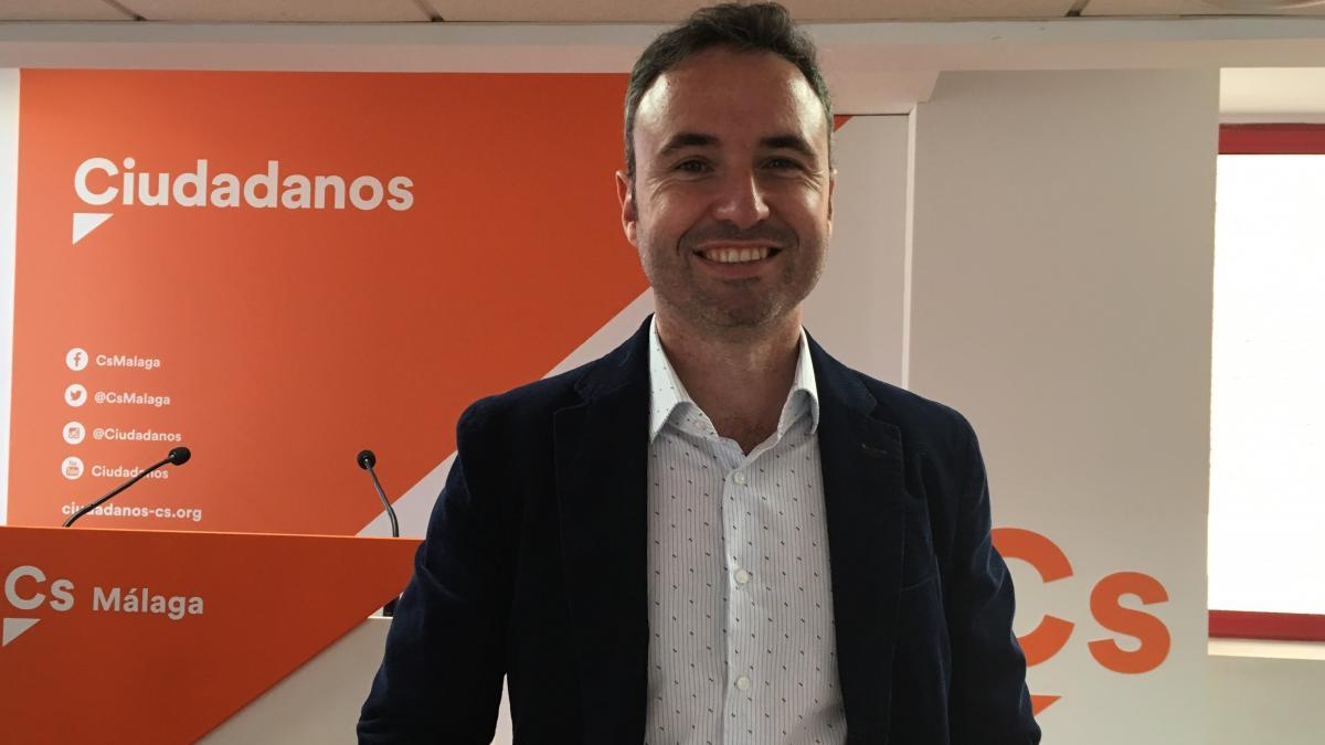 """Díaz (Cs) apuesta por Málaga para """"relanzar"""" al partido y lograr su expansión territorial 2"""