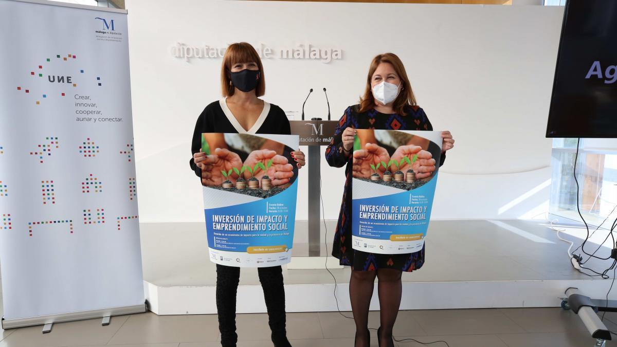 El Ayuntamiento de Málaga y la Diputación apuestan por la inversión de impacto y el emprendimiento social 2