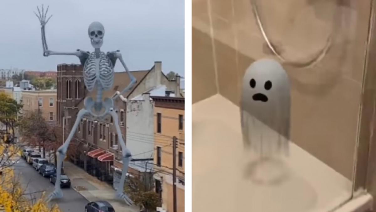 El último truco de Google para divertir a los más pequeños con 3D: fantasmas y esqueletos para celebrar Halloween