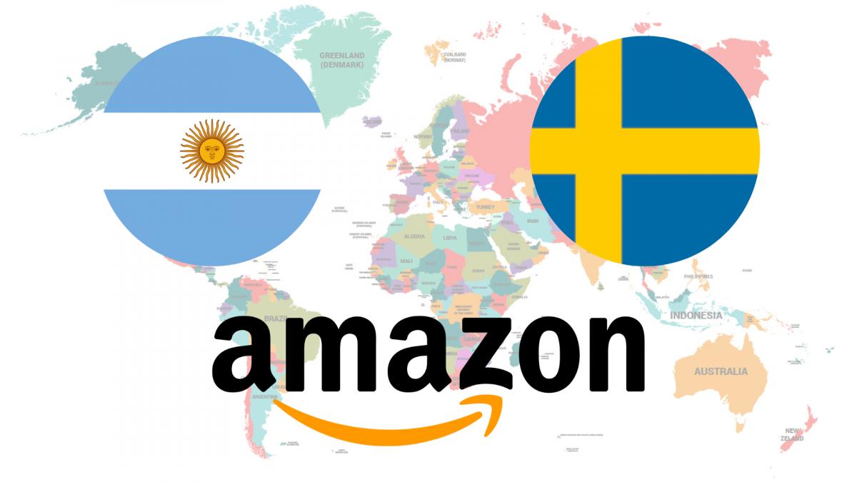 Amazon llega al fin a Suecia... pero se estrena con la bandera de Argentina y con traducciones groseras e incorrectas