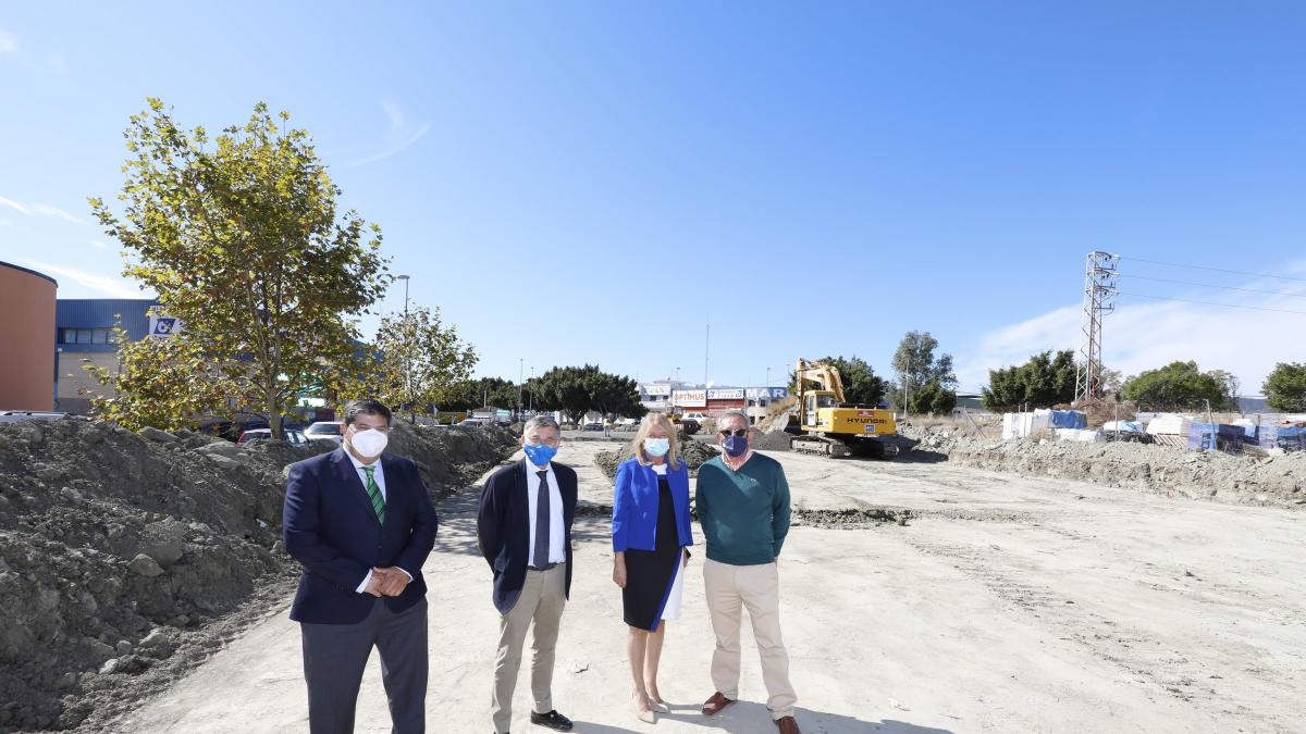 Marbella habilitará antes de que finalice el año más de 500 nuevas plazas de aparcamiento en San Pedro 2