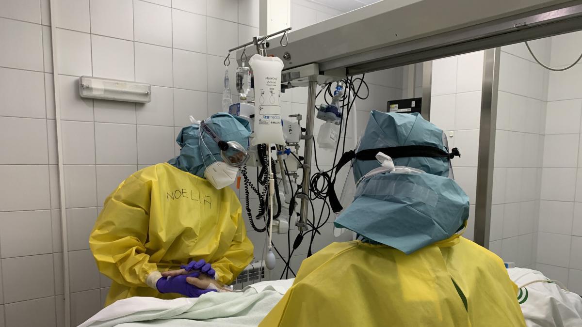Cvirus.- Málaga suma 465 nuevos contagios en una jornada con un fallecido y aumento en las hospitalizaciones 2