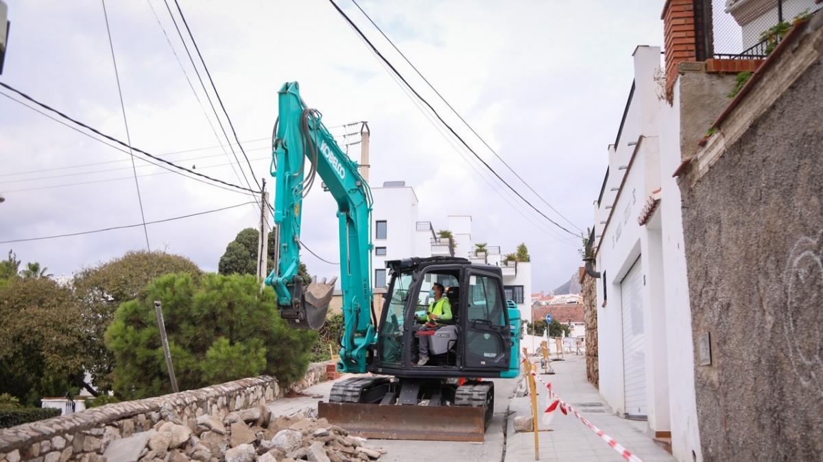 Comienzan las obras para mejorar la accesibilidad de peatones en tres calles del distrito Málaga Este 2