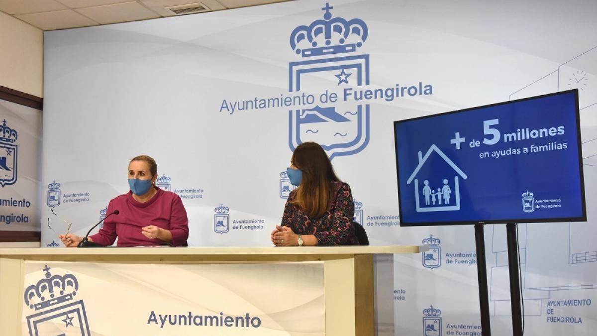 El Ayuntamiento de Fuengirola destina más de cinco millones de euros para ayudas a familias en lo que va de año 1