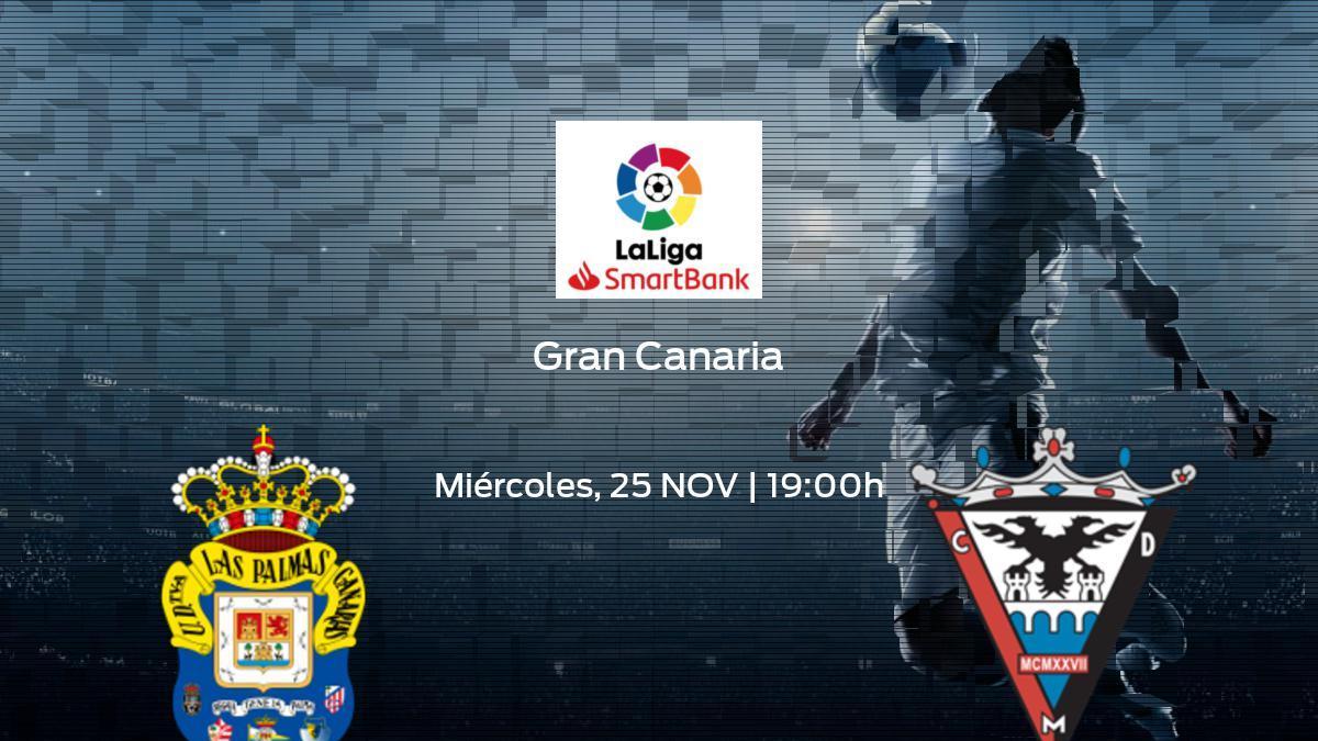 Horario y dónde ver el Las Palmas - CD Mirandés de la Segunda División