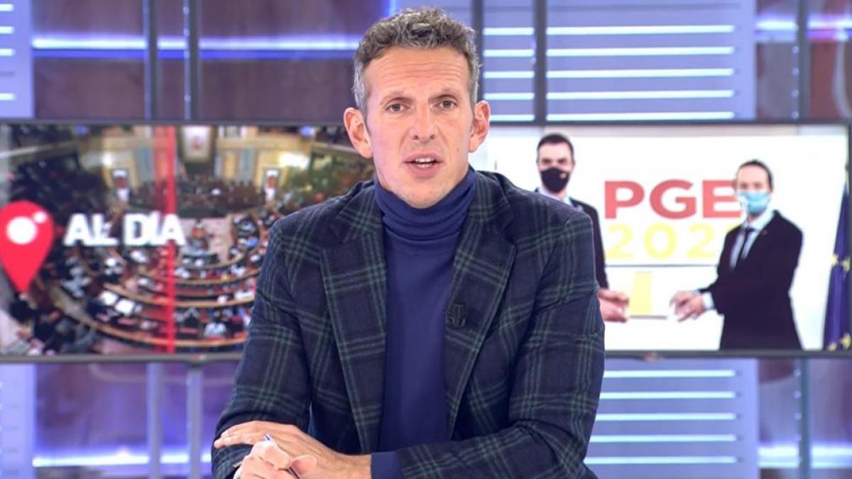 Joaquín Prat lamenta las muertes por coronavirus y pide disculpas en directo por informar más allá de las cifras