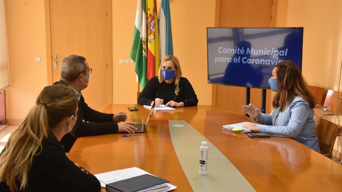Cvirus.- Comité local para COVID de Fuengirola trabaja en nuevas medidas para atender a sectores más afectados 1