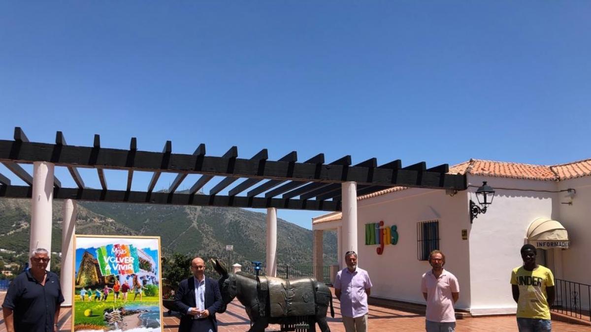 Los Reyes Magos entregarán a los participantes de la campaña de turismo de Mijas los regalos en sus casas 1