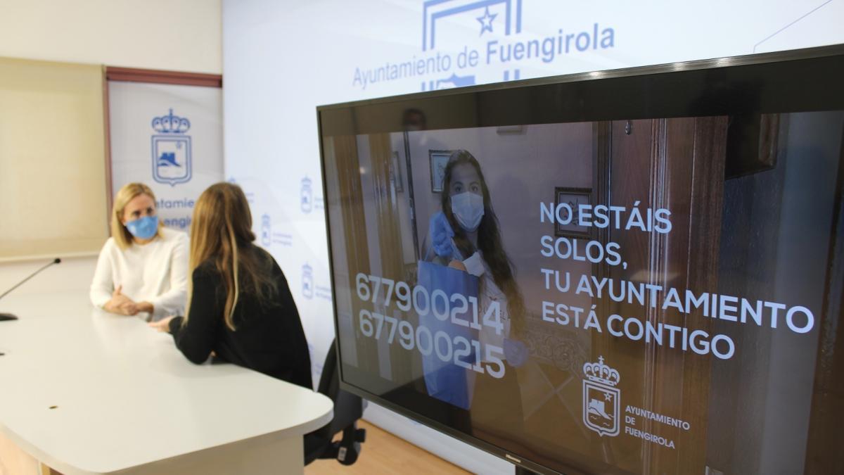 El Ayuntamiento de Fuengirola pone en marcha una campaña para atención a los mayores que viven solos 1