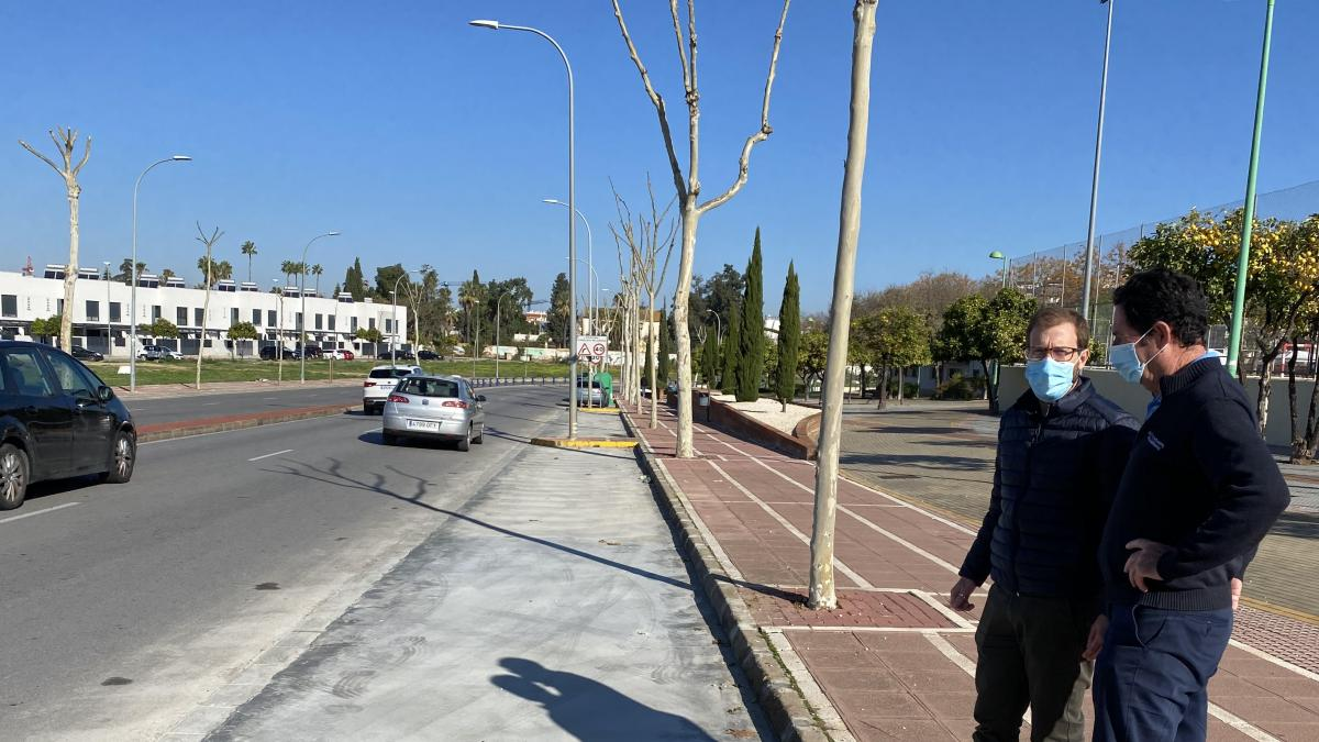 Dos Hermanas esgrime obras por más de 60.000 euros durante este año para mejoras urbanas y acondicionamiento