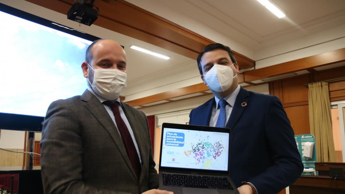 """El Ayuntamiento invertirá unos 2,5 millones de euros en más de mil actuaciones para """"mejorar la accesibilidad"""""""