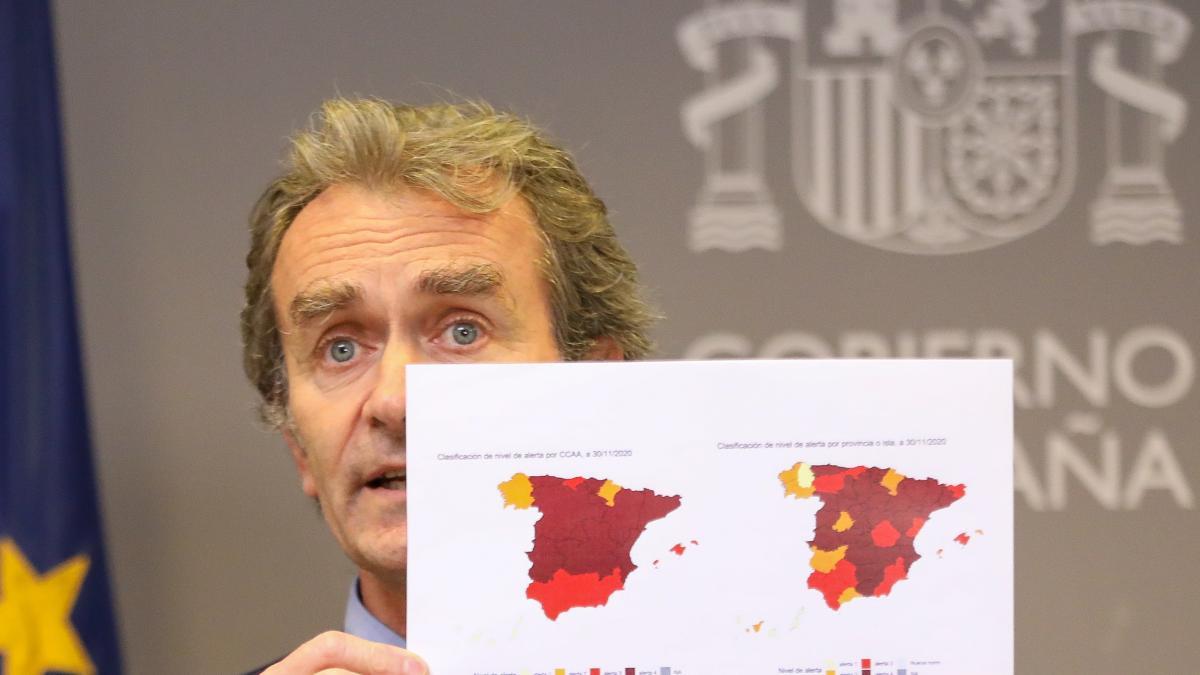 """Simón avisa de que casi toda España está en situación de riesgo y sigue habiendo """"mucha presión"""" hospitalaria"""
