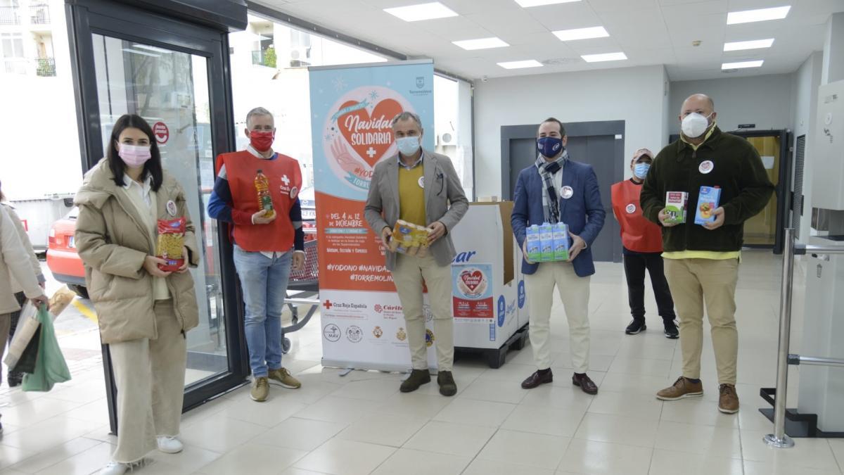 Torremolinos acoge este fin de semana la campaña de recogida de alimentos Navidad Solidaria 1