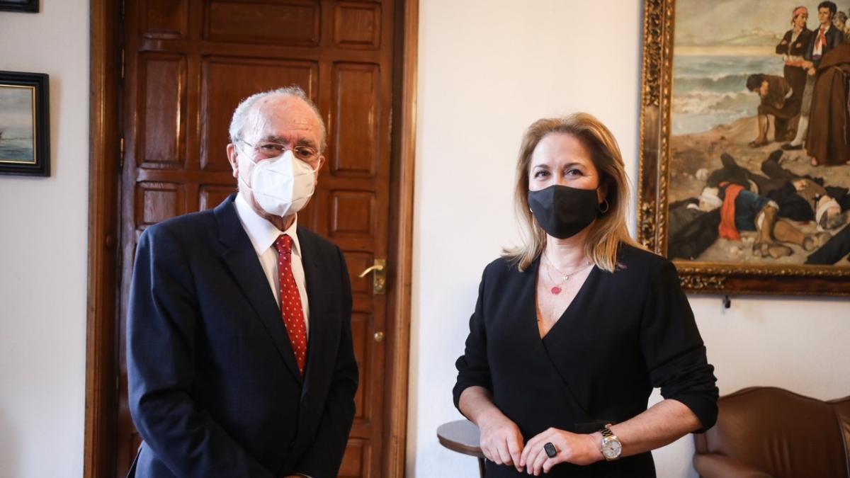 Alicia García Avilés toma posesión como secretaria general del Pleno del Ayuntamiento de Málaga 1