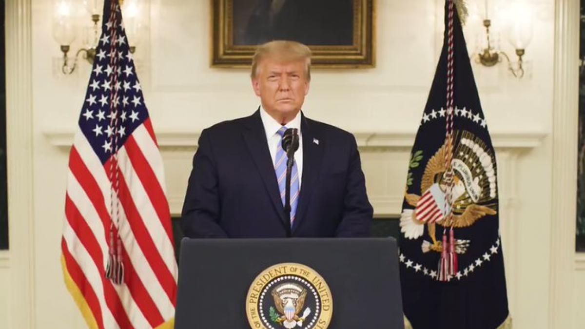 Trump reconoce al fin su derrota electoral y condena el asalto al Capitolio
