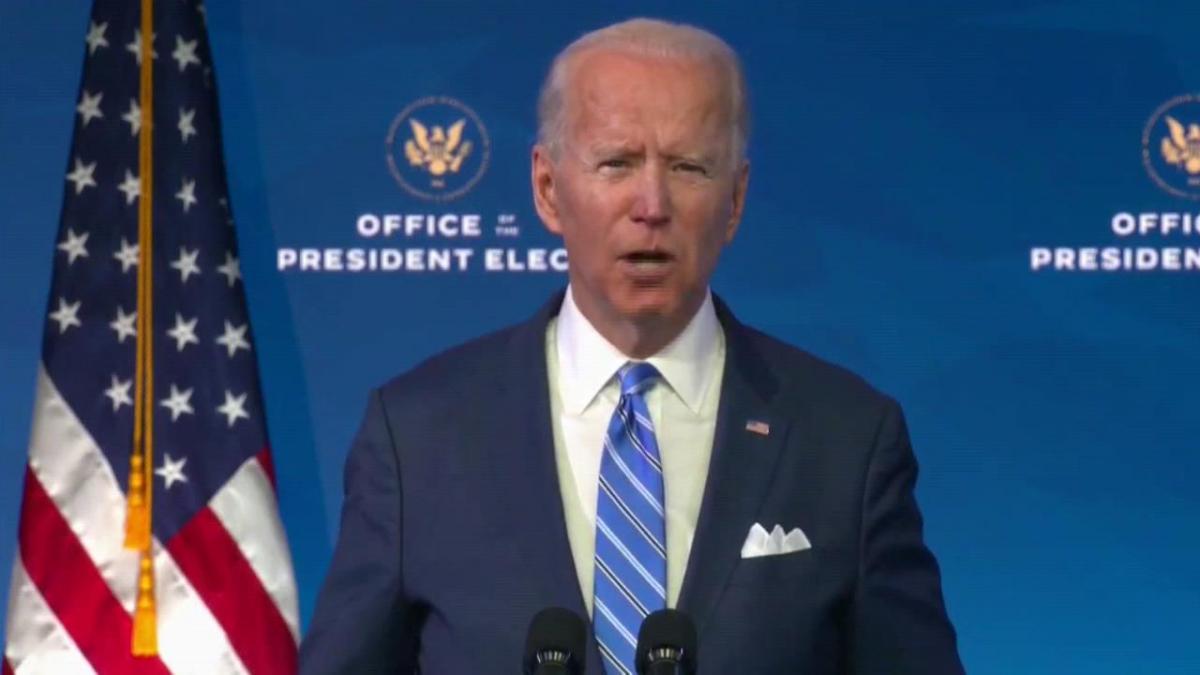 Biden anuncia un plan de estímulo económico de 1,9 billones de dólares